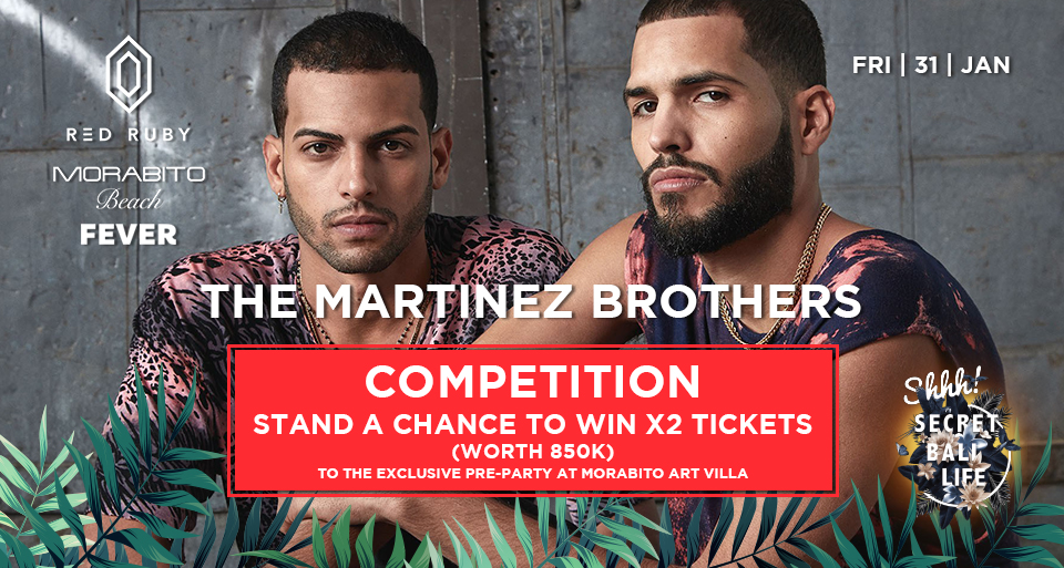 THE MARTINEZ BROTHERS X MORABITO ART VILLA COMPETITION thumbnail image
