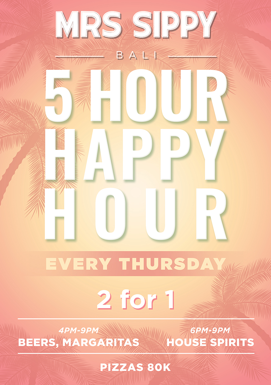 MRS SIPPY PRESENTS: 5 HOUR HAPPY HOUR EVERY THURSDAY thumbnail image