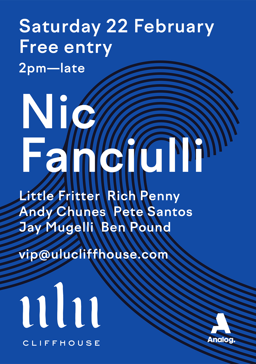 ULU CLIFFHOUSE PRESENTS: NIC FANCIULLI thumbnail image