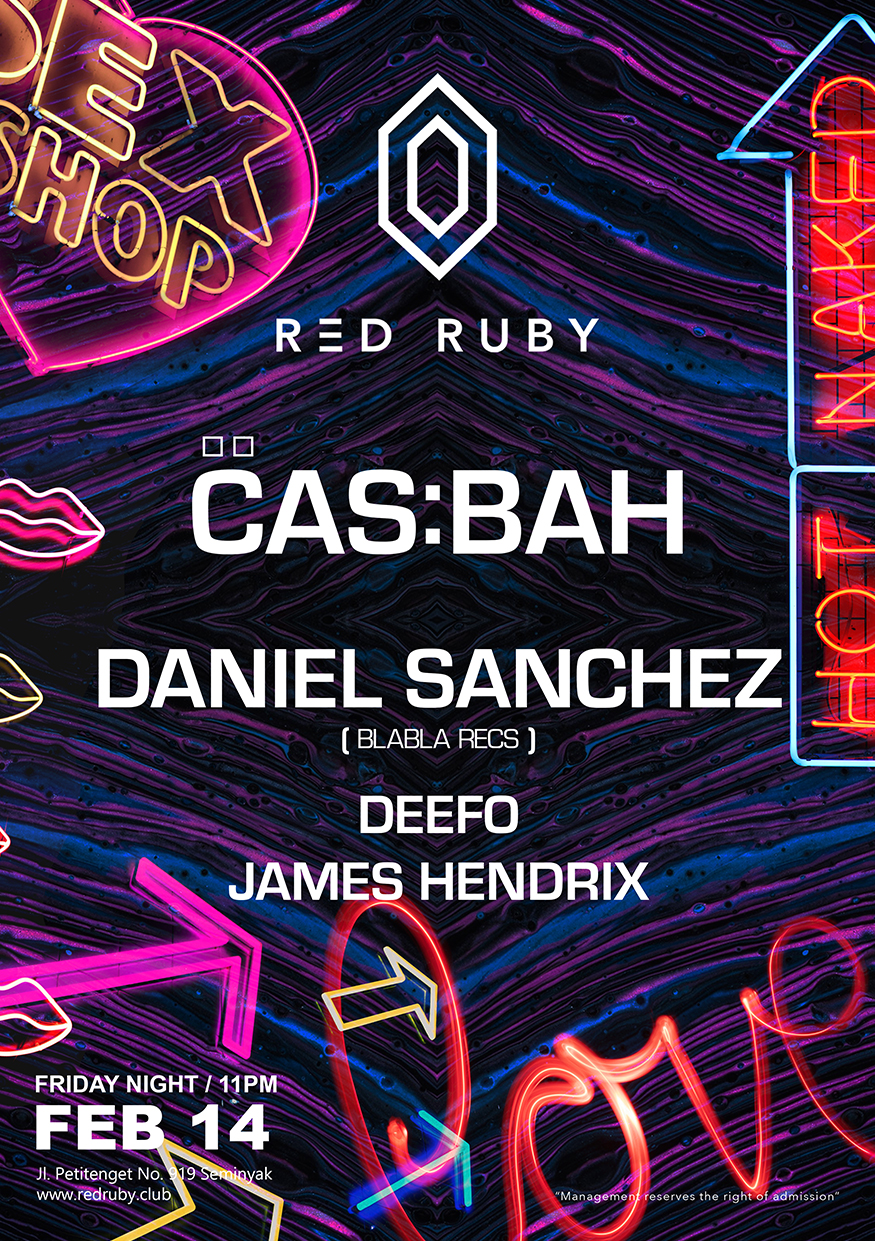 RED RUBY PRESENTS: CAS:BAH thumbnail image