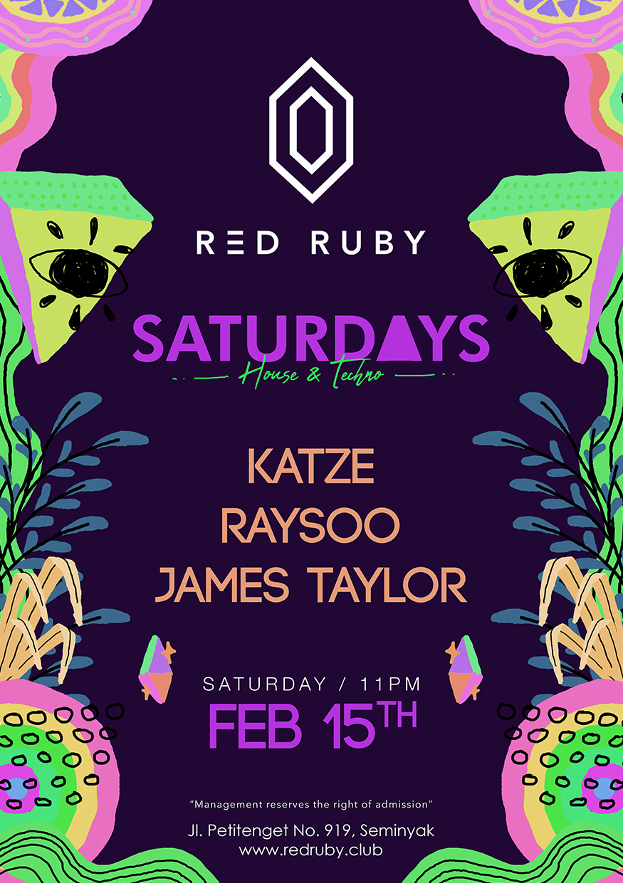 RED RUBY PRESENTS: SATURDAYS thumbnail image