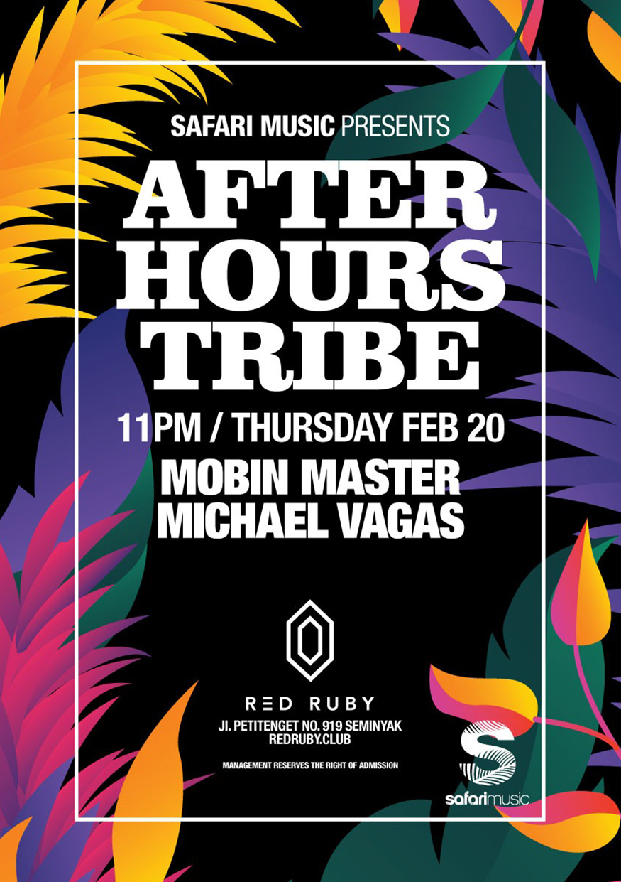 RED RUBY X SAFARI MUSIC PRESENTS: AFTER HOURS TRIBE thumbnail image