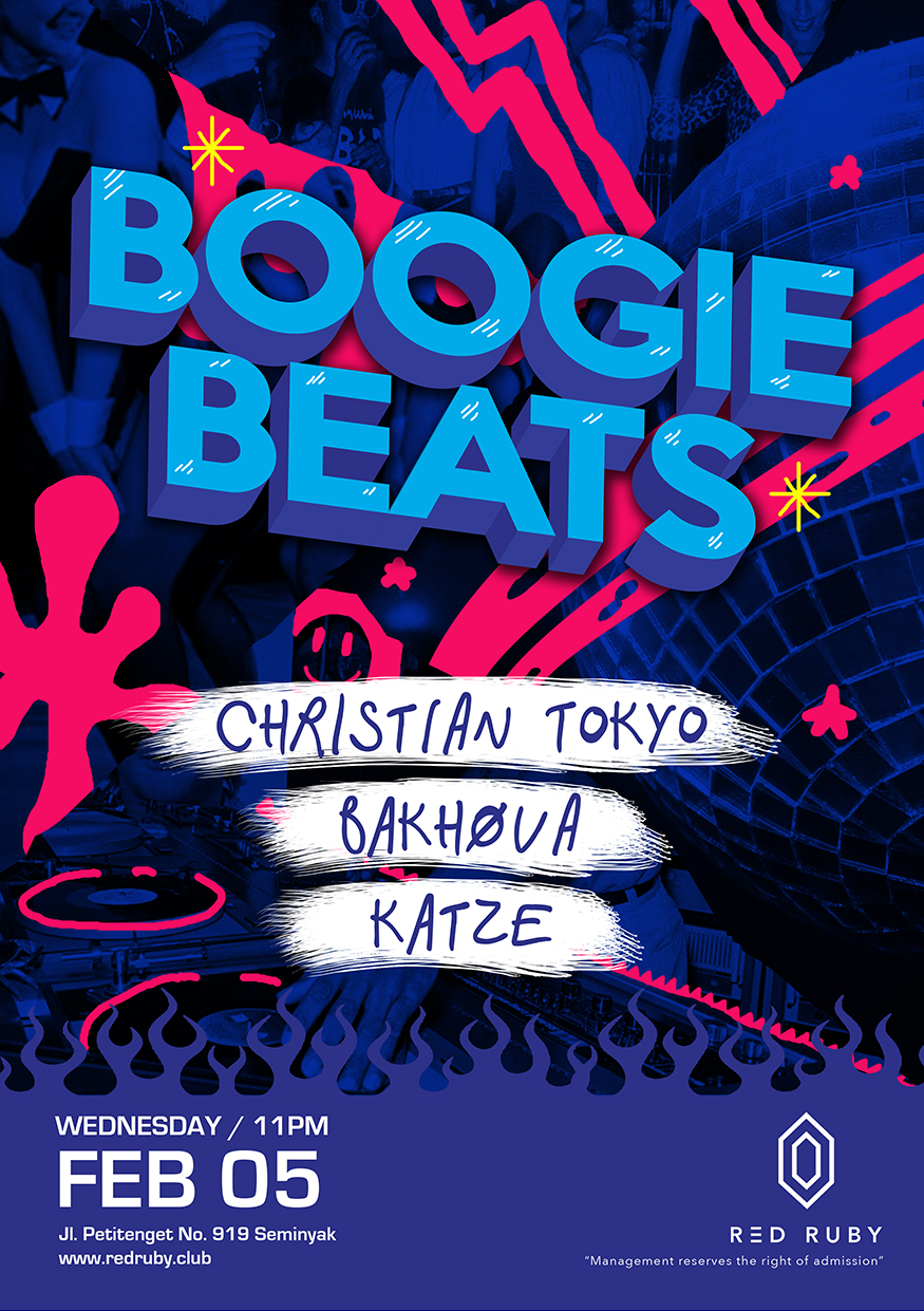 RED RUBY PRESENTS: BOOGIE BEATS thumbnail image
