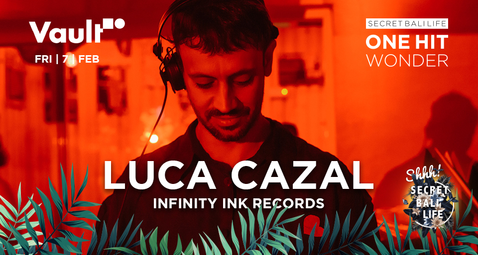 ONE HIT WONDER: LUCA CAZAL thumbnail image