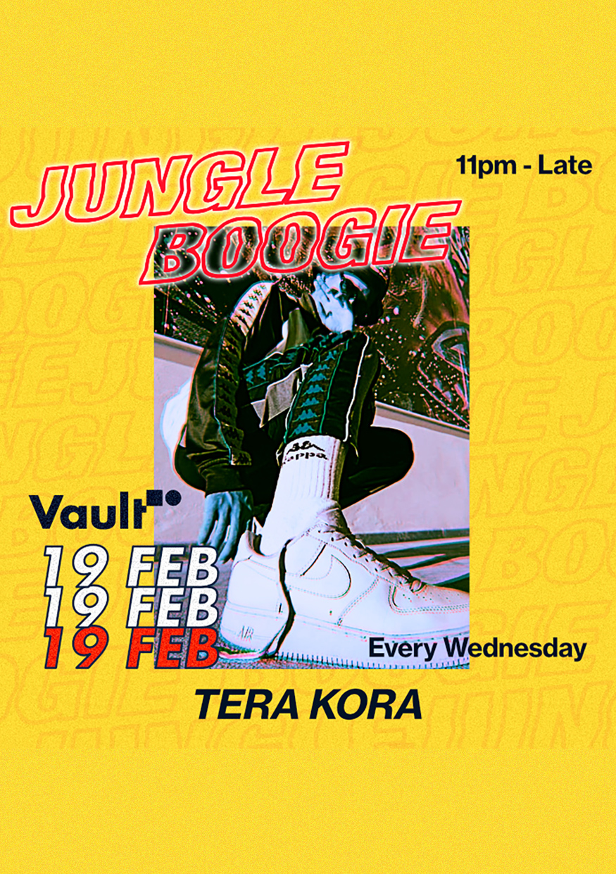 VAULT PRESENTS: JUNGLE BOOGIE thumbnail image