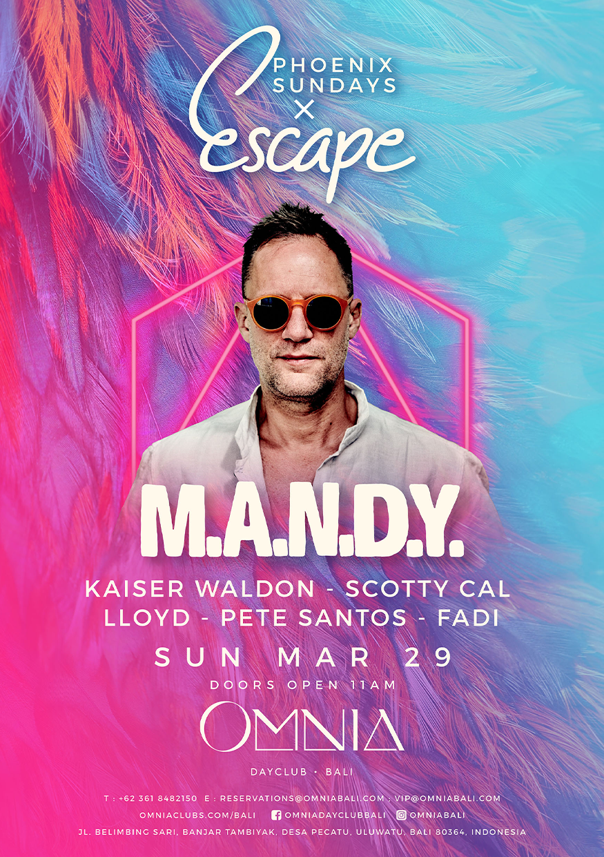 OMNIA PRESENTS: ESCAPE WITH M.A.N.D.Y thumbnail image